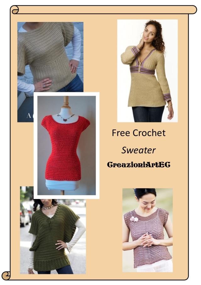Free Crochet Sweater