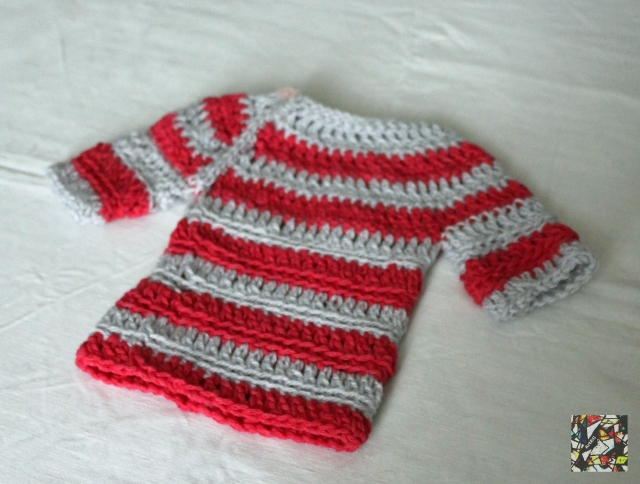 The Bailey Easy Top Down Free Crochet Pattern Maglia Per Bimba All